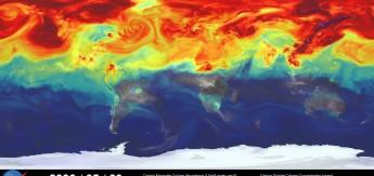 Компьютерное моделирование распространения парниковых газов