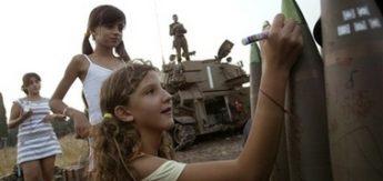 isr kids sign bombs