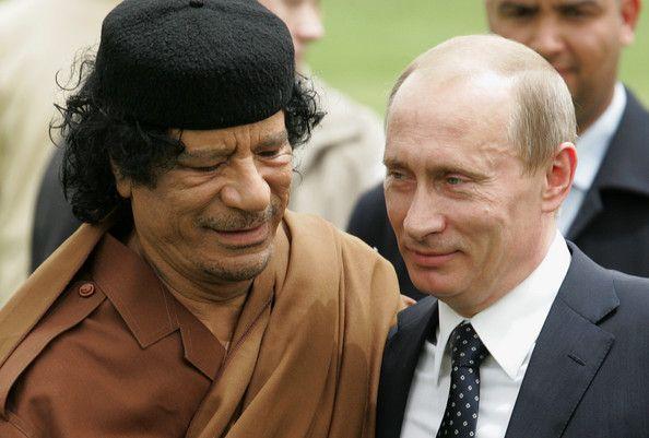 Putin-kaddafy