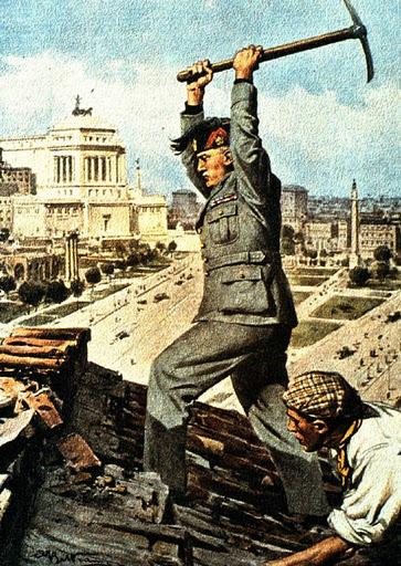 MussoliniViaImpero_1