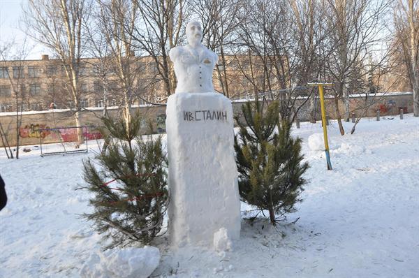 stalin snow